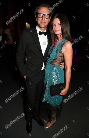 Stock Picture of Natalie Massenet and Erik Torstensson