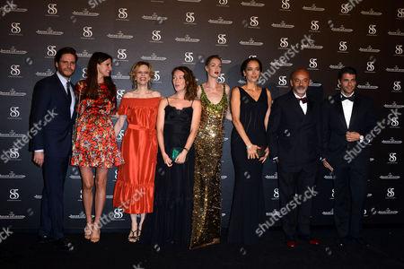 Daniel Bruhl, Felicitas Rombold, Eva Riccobono, Sonia Bergamasco, Cristiana Capotondi, Carmen Chaplin, Christian Louboutin