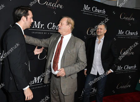 Christian Madsen, Director, Bruce Beresford and Producer, Lee Nelson
