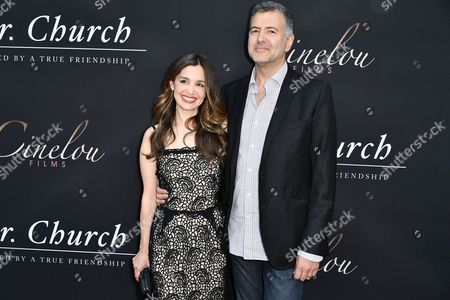 Gina Philips and Producer, Lee Nelson