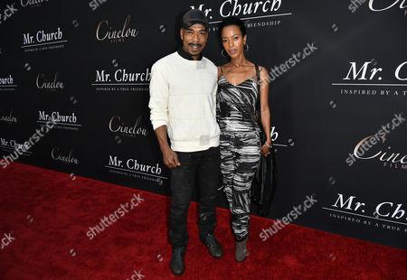 Stock Image of Jo D. Jonz and Rahel Tadesse