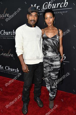 Stock Photo of Jo D. Jonz and Rahel Tadesse