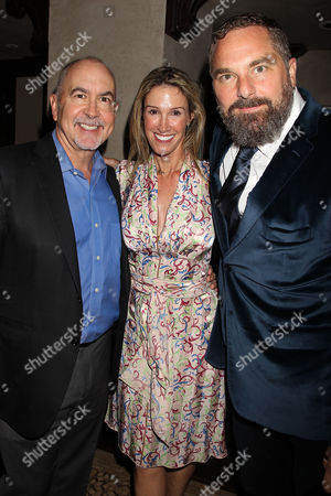 Terence Winter with Guest and Todd Komarnicki