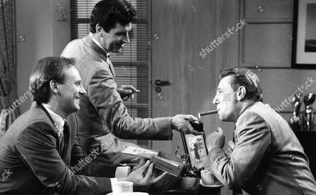 Peter Davison, Peter Blake and Paul Darrow (Episode Ten)
