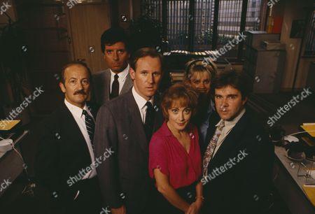 Peter Davison, Paula Wilcox, Charles Kay, Peter Blake, Tyler Butterworth and Cindy Day (Publicity shot)