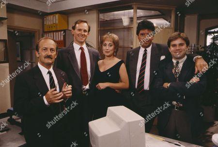 Peter Davison, Paula Wilcox, Charles Kay, Peter Blake and Tyler Butterworth (Publicity shot)
