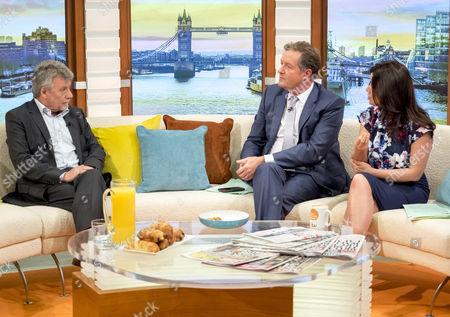 Neil Wallis, Piers Morgan and Susanna Reid