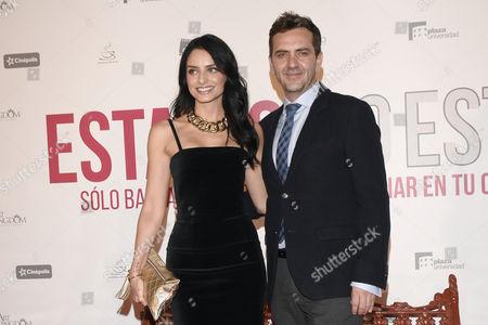Aislinn Derbez and Flavio Medina