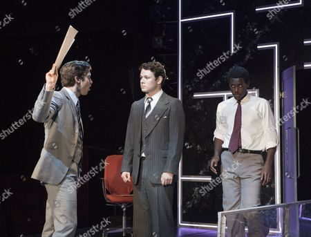Tom Weston-Jones as Charlie, Sean Delaney as John, Abubakar Salim