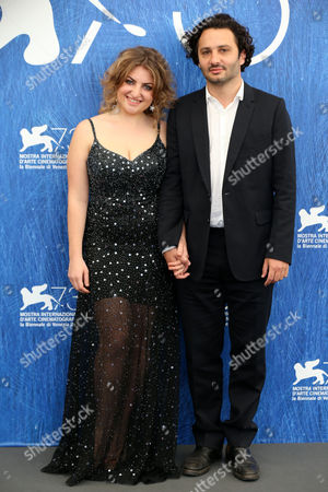 Stock Picture of Laila Maltz and Gaston Solnicki