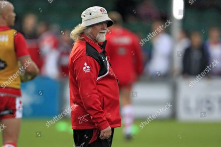 Gloucester Rugby Head Coach Laurie Fisher before the game Worcester Warriors v Gloucester Rugby - Aviva Premiership - 09/09/2016 - Sixways Stadium - Worcester - UK Mandatory Credit: Ian Smith/Seconds Left Images