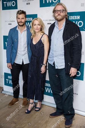 Stock Picture of Jamie Dornan, Gillian Anderson and Allan Cubitt