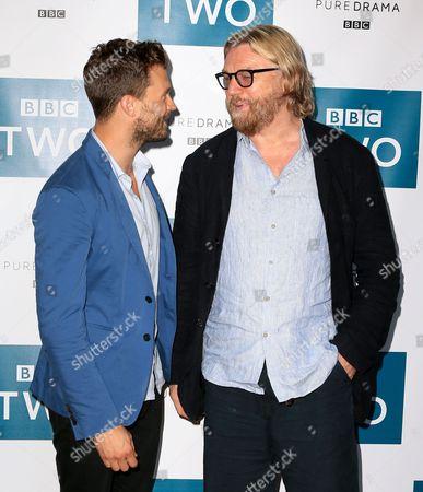 Stock Image of Allan Cubitt and Jamie Dornan