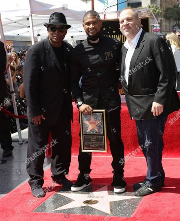 Terry Lewis, Usher and Harvey Weinstein
