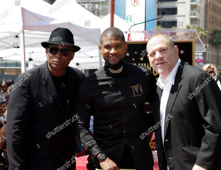 Editorial image of Usher honored with a star on the Hollywood Walk of Fame, Los Angeles, USA - 07 Sep 2016