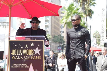 Editorial photo of Usher honored with a star on the Hollywood Walk of Fame, Los Angeles, USA - 07 Sep 2016