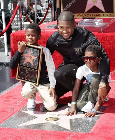 Editorial picture of Usher honored with a star on the Hollywood Walk of Fame, Los Angeles, USA - 07 Sep 2016