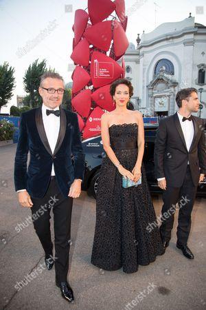 Laurent Vinay, Carmen Chaplin and Jorge Viladoms