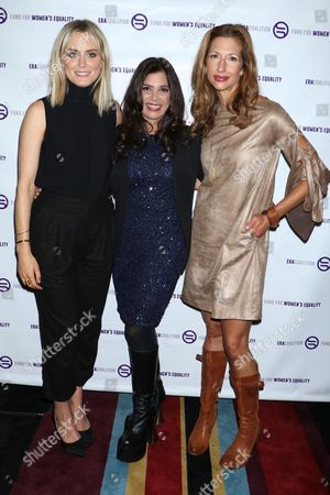 Stock Image of Taylor Schilling, Kamala Lopez and Alysia Reiner
