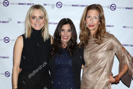 Taylor Schilling, Kamala Lopez and Alysia Reiner