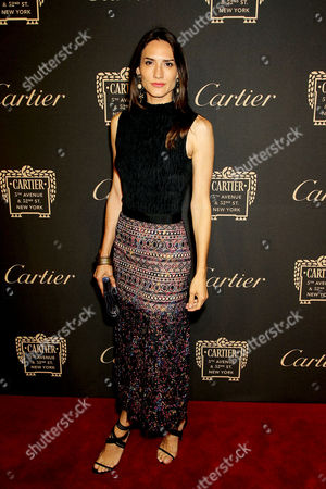 Editorial image of Cartier Fifth Avenue Mansion Reopening Party, New York, USA - 07 Sep 2016