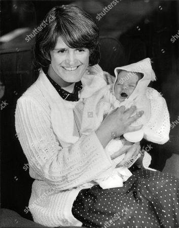 Mrs Sheila Gordon Wife Of Pc John (jon) Gordon Who Lost Both Legs In The Ira Bombing Of Harrods Last Year Pictured With Their Baby Boy Called Stuart. Box 706 503081625 A.jpg.