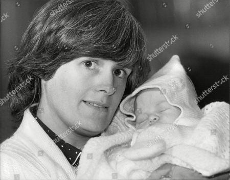 Mrs Sheila Gordon Wife Of Pc John (jon) Gordon Who Lost Both Legs In The Ira Bombing Of Harrods Last Year Pictured With Their Baby Boy Called Stuart. Box 706 30308167 A.jpg.