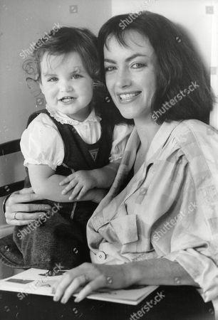 Actress Susan Gilmore With Her Daughter Emma. Box 705 1005081650 A.jpg.