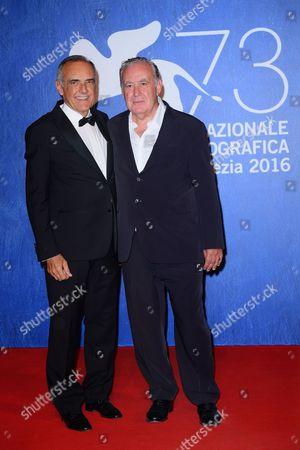 Alberto Barbera, the director Michele Santoro