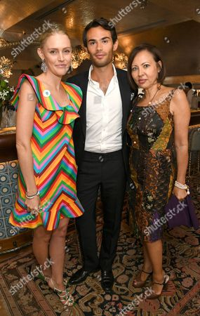 Stock Picture of Tanja Gullestrup, Mark-Francis Vandelli, Warly Tomei