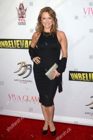 Stock Photo of Dina Meyer