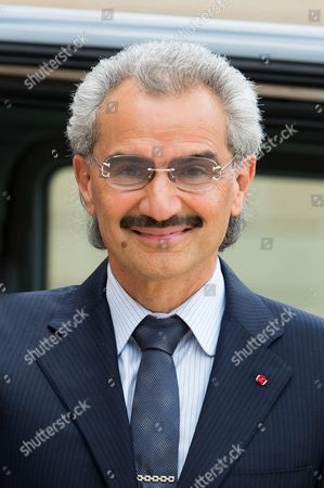 Stock Picture of Prince Al-Waleed bin Talal