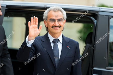 Editorial picture of Prince Al-Waleed bin Talal visit to France - 08 Sep 2016