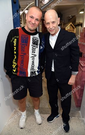 Gosha Rubchinskiy and Adrian Joffe