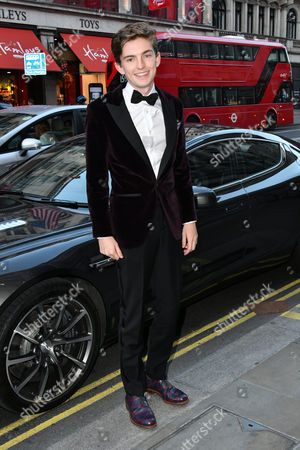 Editorial picture of Aston Martin by Hackett collection launch, London, UK - 08 Sep 2016