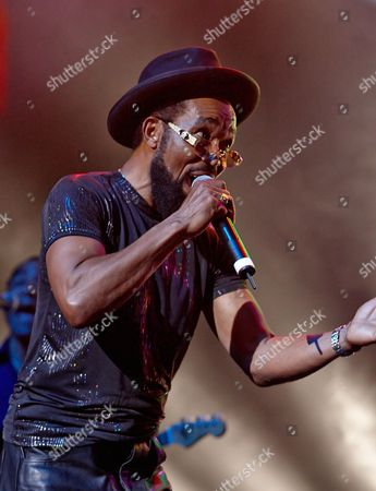 Editorial image of Prince Buster in concert, Boscombe, Bournemouth, UK - 26 Apr 2008