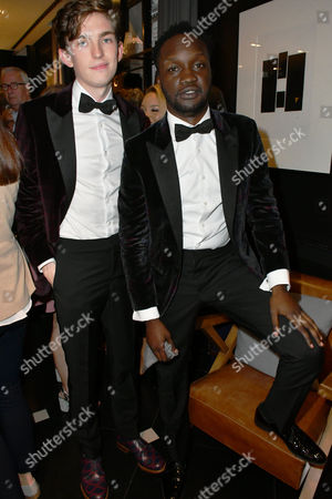 Editorial image of Aston Martin by Hackett collection launch, London, UK - 08 Sep 2016