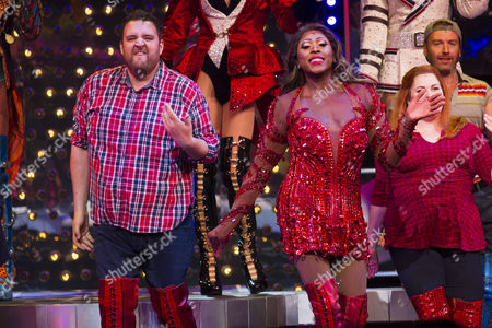 Editorial photo of 'Kinky Boots' musical, 1st Birthday, London, UK - 8 Sep 2016