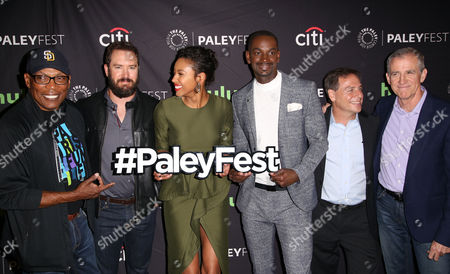 Editorial photo of FOX's 'Pitch' TV Series Screening, Arrivals, PaleyFest, Los Angeles, USA - 08 Sep 2016