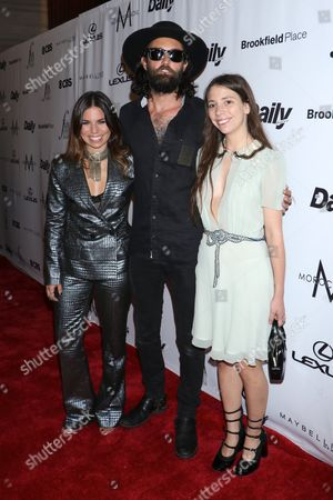 Stock Image of Ally Hilfiger, Steve Hash and Elizabeth Hilfiger