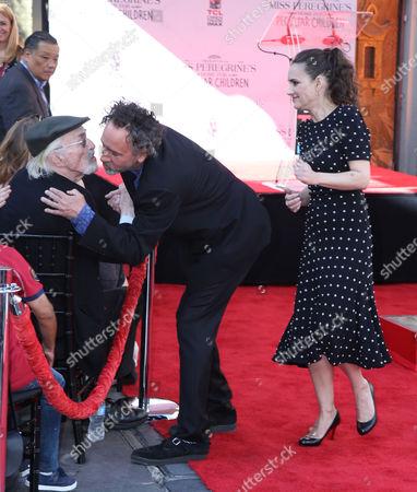 Martin Landau, Tim Burton, Winona Ryder