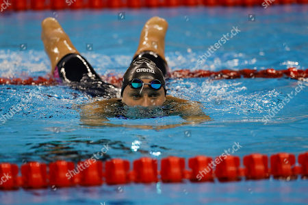 Jessica Long United States' Jessica Long rests after competing in the women's 400-meter freestyle S8 final swimming event at the Paralympic Games in Rio de Janeiro, Brazil