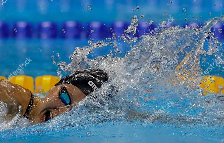 Jessica Long United States' Jessica Long competes in the women's 400-meter freestyle S8 final swimming event at the Paralympic Games in Rio de Janeiro, Brazil