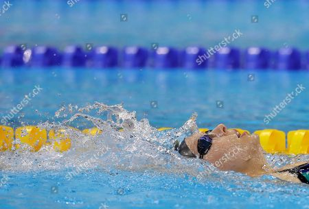 Jessica Long Jessica Long of the U.S. swims during a warm up session before the swimming competitions at the Rio 2016 Paralympic Games in Rio de Janeiro, Brazil