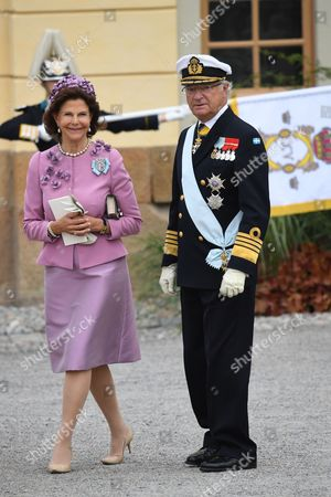 Queen Silvia and King Carl Gustav