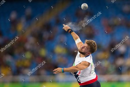 Editorial picture of Rio 2016 Paralympic Games, Athletics, Olympic Stadium, Brazil - 08 Sep 2016