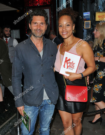 Jason Milligan and Angela Griffin