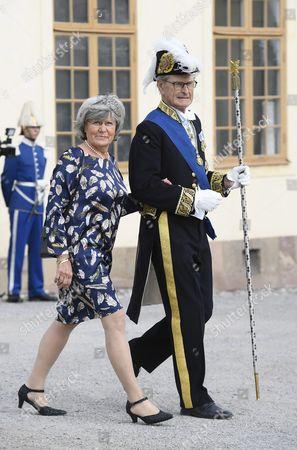 Editorial picture of Prince Alexander of Sweden Christening, Drottningholm Palace, Stockholm, Sweden - 09 Sep 2016