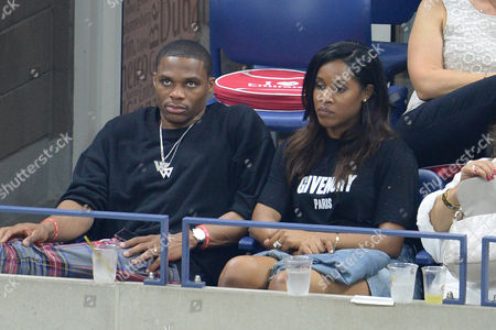 Stock Picture of Russell Westbrook and Nina Earl