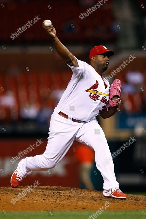 Jerome Williams St. Louis Cardinals relief pitcher Jerome Williams throws during the eighth inning of a baseball game against the Milwaukee Brewers, in St. Louis. The Brewers won 12-5